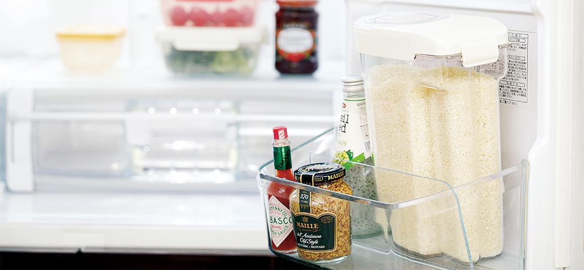冷蔵庫ポケットイメージ