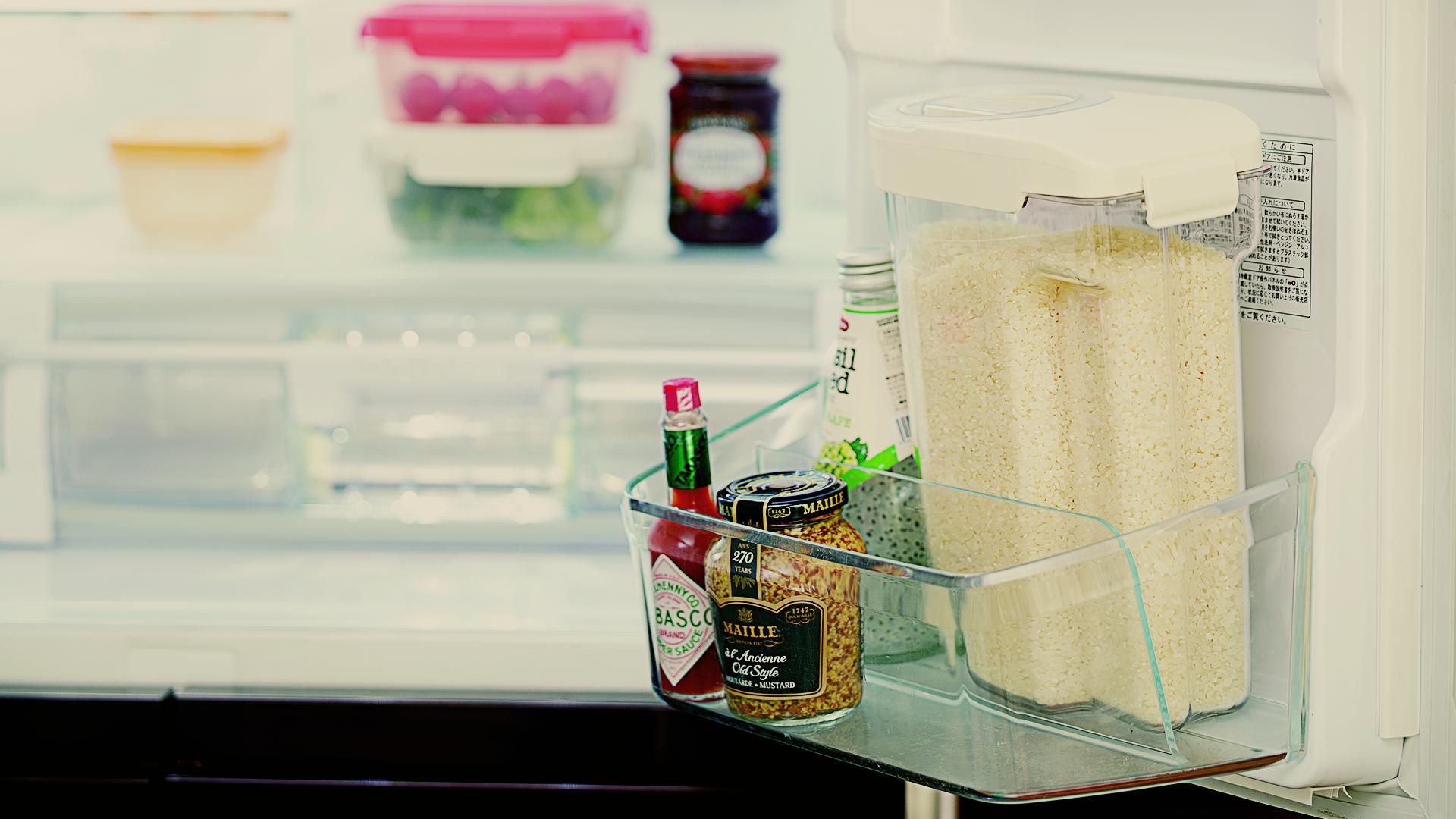 冷蔵庫のドアポケットに入る イメージ