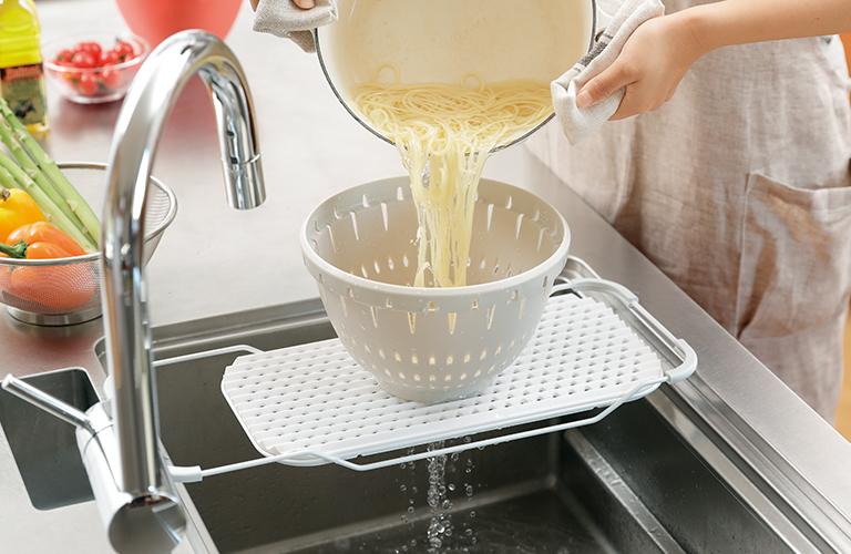 食材洗いや水切り台に イメージ