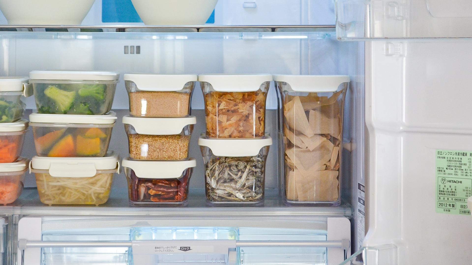 見やすく、使いやすい〈冷蔵庫〉収納アイデア